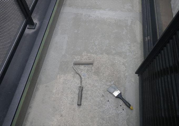 葛飾区青戸 ベランダ防水施工例